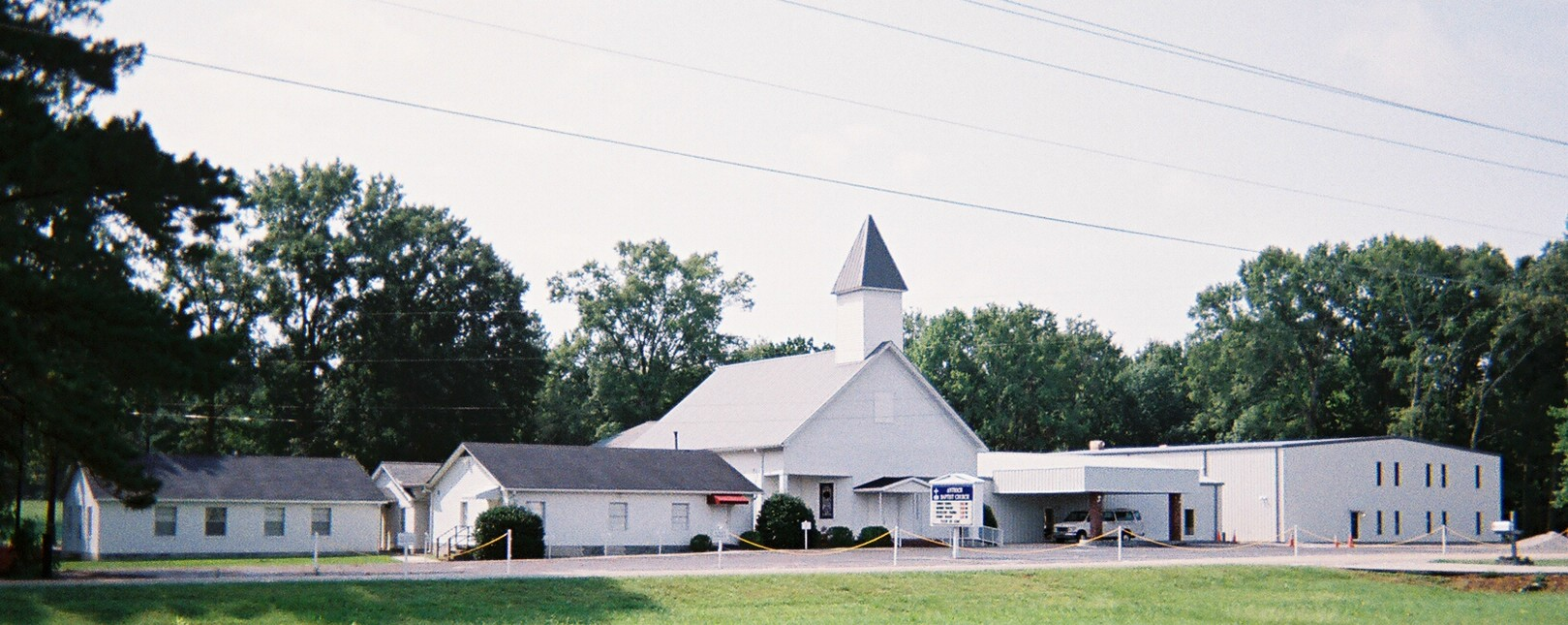 Antioch Baptist Church at Columbiana, Georgia